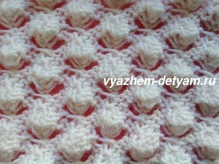ажурный узор для вязания спицами для детей