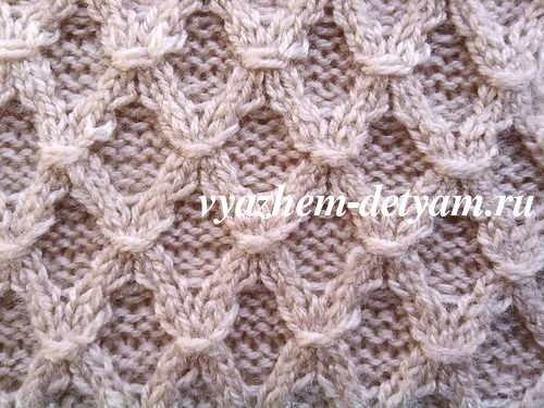 39 узор со схемой для вязания детям спицами вяжем детям