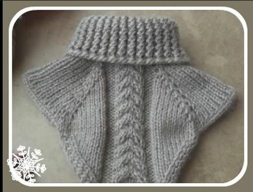 мастер класс вязания шапки на спицах