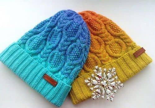 Журналы вязания спицами шапки