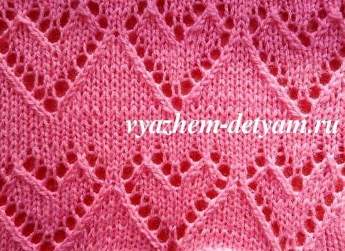 Узоры резинки спицами со схемами фото 162