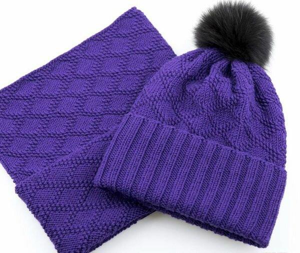 Узор для вязания детской шапки спицами